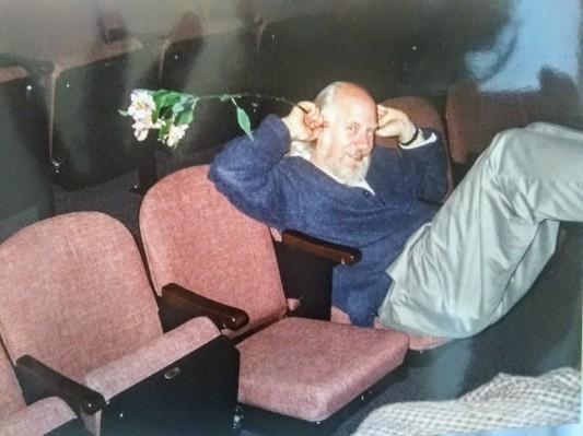 Geoff in rehearsal, 1998